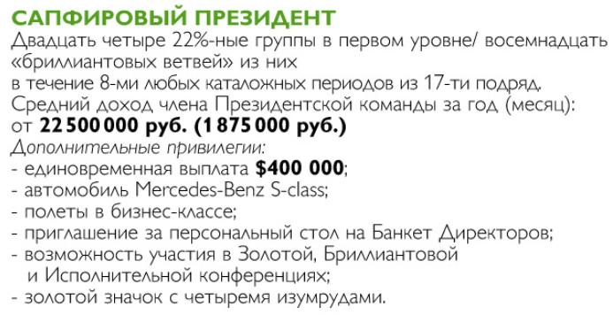 САПФИРОВЫЙ ПРЕЗИДЕНТ ОРИФЛЕЙМ
