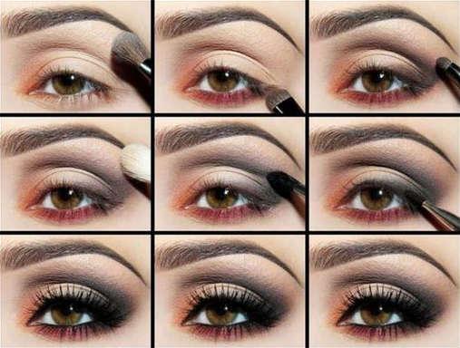 качество макияжа в технике