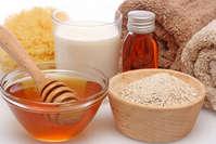 Натуральные продукты для маски для лица