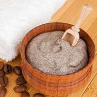 Молотый кофе для пилинга тела