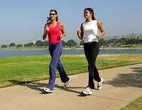 Если противопоказано бегать, заменяем бег на ходьбу