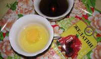 Ламинирование с желатином и желтком