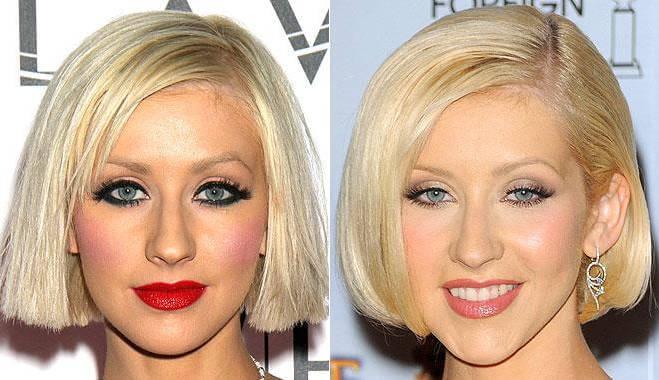 Разница между ярким и естественным макияжем
