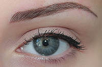 Перманентный макияж бровей - комбинированная техника
